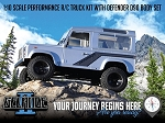 RC4WD Gelande II Truck Kit w/Defender D90 Body Set