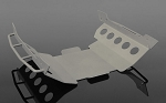 Metal Chassis Guard for Axial Wraith