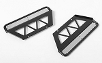 Trifecta Side Sliders for Land Cruiser LC70 Body (Black)