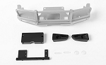 Trifecta Front Bumper for Mojave II 2/4 Door Body Set (Silver)