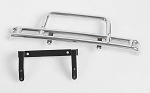 Steel Tube Front Bumper for Tamiya Hilux & Bruiser (Silver)