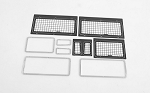 Complete Windows Guard Set for Land Rover Defender D90