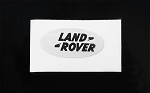 Land Rover Emblem for Defender D90 Body (White)