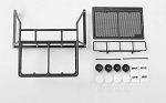 Roll Bar/Roof Rack w/Lightbar Frame and Front IPF Lights for TF2 Mojave Body