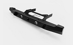 Solid Rear Bumper w/Lights for Axial SCX10 II XJ (Black)