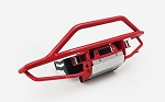 Krabs Front Bumper for Axial SCX10 II XJ (Red)