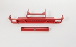 Tube Rear Bumper for Axial SCX10 II XJ (Red)