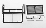 Roof Rack, Rollbar, Light Bar Combo for RC4WD Chevy Blazer Body (Black)