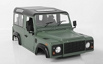 1/10 Land Rover Defender D90 Limited Edition Pre-painted Green Body