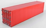 RC4WD 1/14 All Metal 40' Shipping Container (Red)