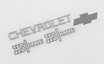RC4WD Chevrolet Blazer Metal Emblem Set
