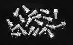 RC4WD Miniature Scale Hex Bolts (M2.5 X 4mm) (Silver)