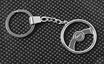 Raceline Wheels Deceptive Steering Wheel Keychain