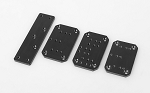 RC4WD Universal Winch Mounting Plates