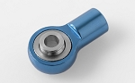M3 Short Straight Aluminum Rod Ends (Blue) (10)