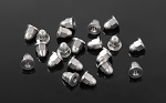 M2 Flanged Acorn Nuts (Silver)