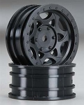 Axial 1.9 Walker Evans Street Wheels Black (2)