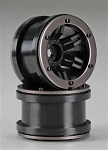 Axial 2.2 Rocksters Beadlock Wheels Black