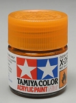 Tamiya Acrylic Mini X-26 Clear Orange 1/3 oz