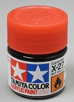 Tamiya Acrylic Mini X-27 Clear Red 1/3 oz