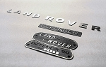 1/10 Land Rover Defender D90 Emblem Set