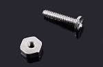 1mm x 5mm Machine Screw and Nut