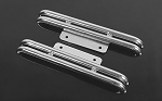 Steel Tube Side Steps for Tamiya Hilux & Bruiser (Silver)