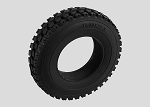 "Road Trucker 1.7"" 1/14 Semi Truck Tires"