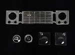 Land Rover Defender D90 Front Grille and Light Assembly