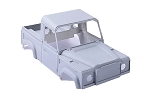 1/10 Land Rover Defender D90 Pick Up Truck Hard Plastic Body Kit