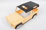 1/10 Land Rover Defender D90 Limited Edition Pre-painted Yellow Body