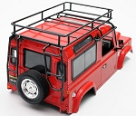 Adventure Land Rover D90 Defender 90 Roof Rack