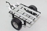 1/10 Dual Rails Dirt Bike ATV Trailer (Black Edition)