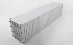 RC4WD 1/14 All Metal 40' Shipping Container (Grey)