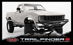 Trail Finder 2 Truck Kit w/Mojave Body Set (Grey)