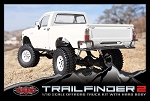 Trail Finder 2 Truck Kit w/Mojave Body Set (White)