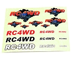 RC4WD Monster Decal Sheet (1)