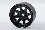 6 Lug Wagon 2.2 Single Steel Stamped Beadlock Wheels (Black)