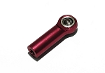 Aluminum Red M3 Rod End with Steel Ball (1)