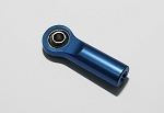 Aluminum Blue M3 Rod End with Steel Ball (10)