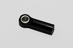 Aluminum Black M3 Rod End with Steel Ball (1)