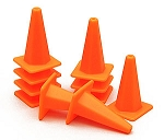 1/10 Scale Traffic Cone (Orange)