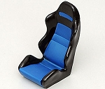 1/10 Scale Racing Seat (Blue)