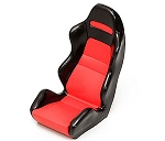 1/10 Scale Racing Seat (Red)