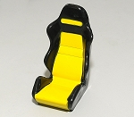 1/10 Scale Racing Seat (Yellow)