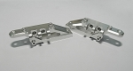 Upper 4 link Mount Set for Axial Wraith (Silver)