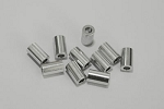 10mm Silver Spacer (10)