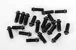 RC4WD Miniature Scale Hex Bolts (M3x8mm) (Black)