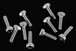 Socket Head Cap Screws M2.5 X 8mm (10)