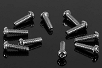 Button Head Cap Screws M2 x 8mm (10)